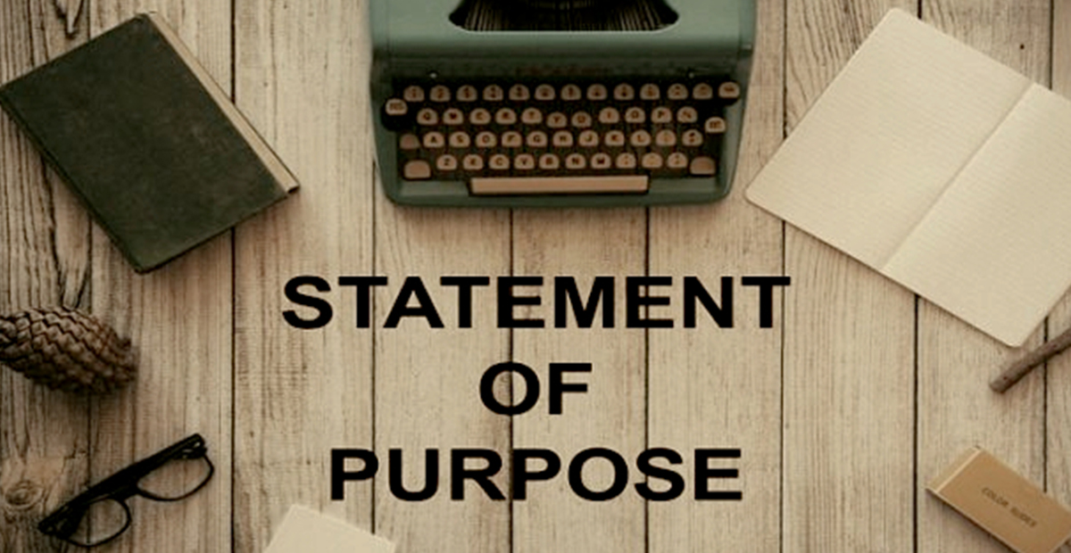 What to include in Statement of Purpose